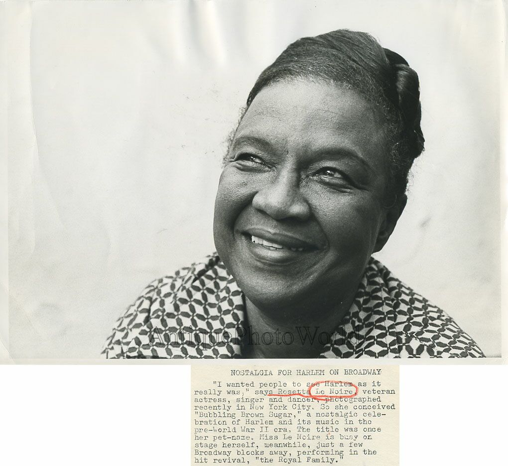 Communication on this topic: Loretta Ables Sayre, rosetta-lenoire/