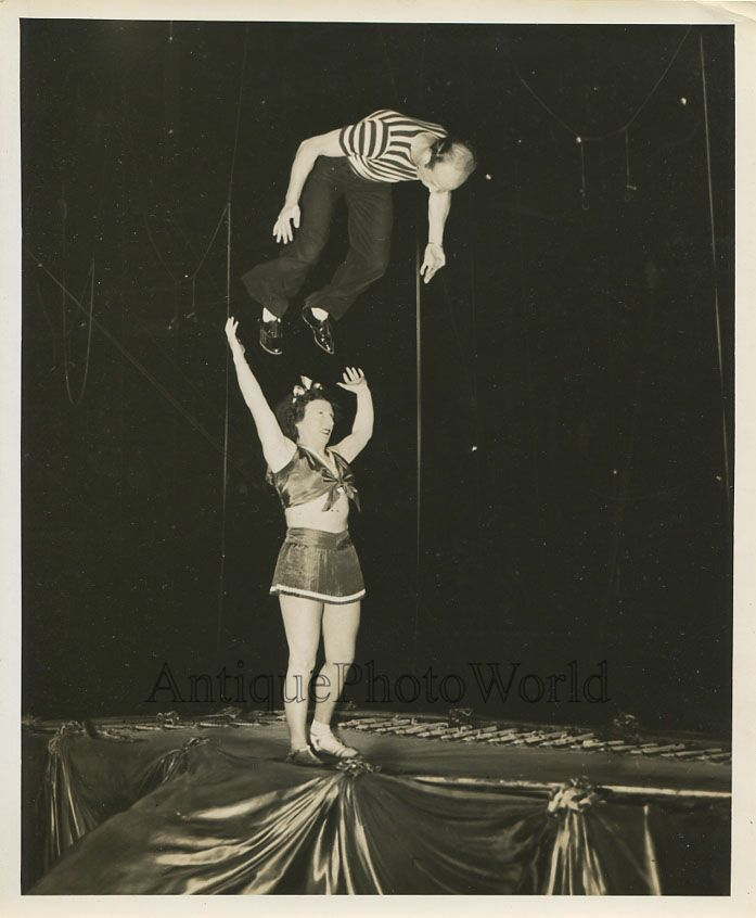 clowns acrobats strong woman ringling bros circus act